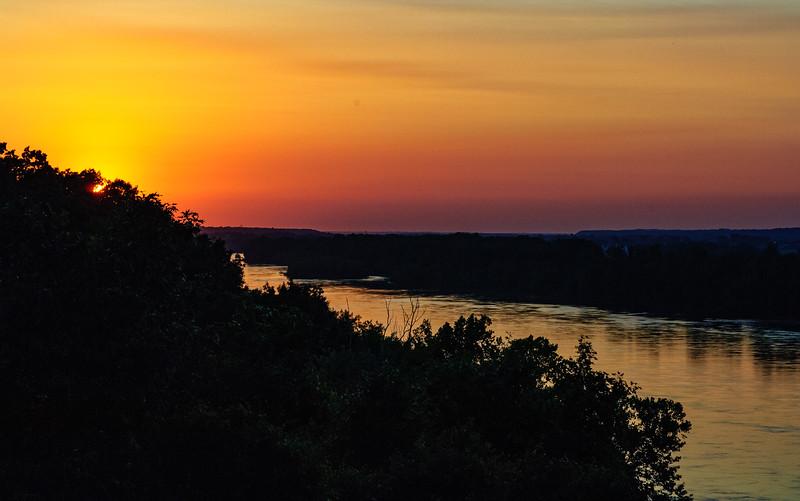 Missouri River, Jefferson City, Missouri