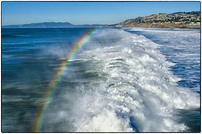 Pacifica Pier Surf Rainbow