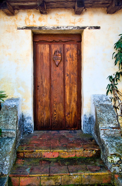 Carmel Mission Door, California