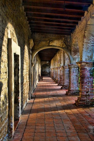 Corridor - Mission San Juan Capistrano, California