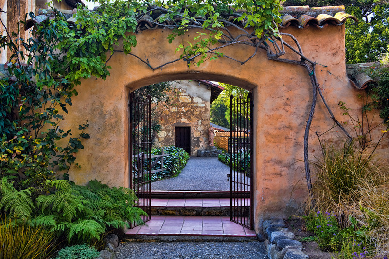Gateway - Carmel Mission, California