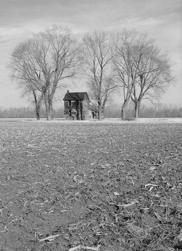 Farm House #2 B&W