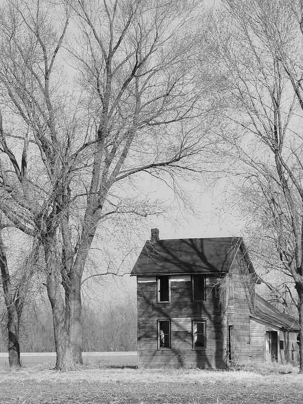Farm House #3 B&W
