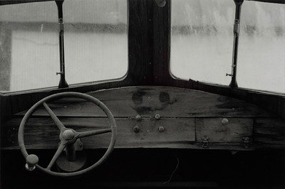 Interior of an old boat in Lupus, Missouri, on the Missouri River.