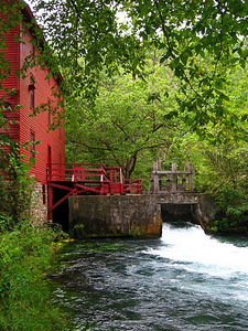 Alley Spring Mill. Near Eminence, Missouri.
