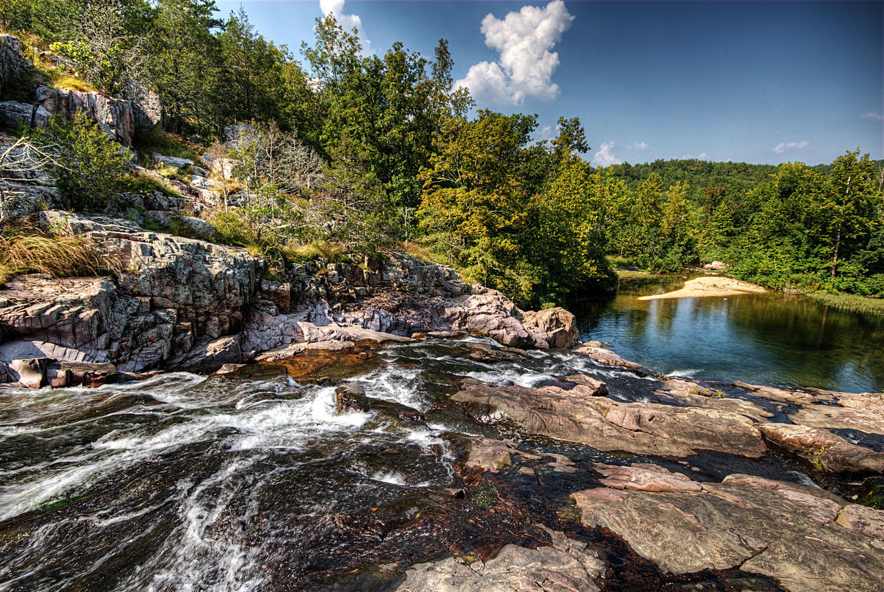 Rocky Falls.