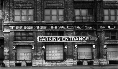 Hack's Furniture building, downtown