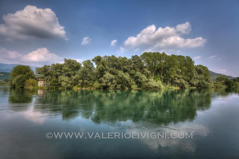The Adda river at Brivio - (IT)