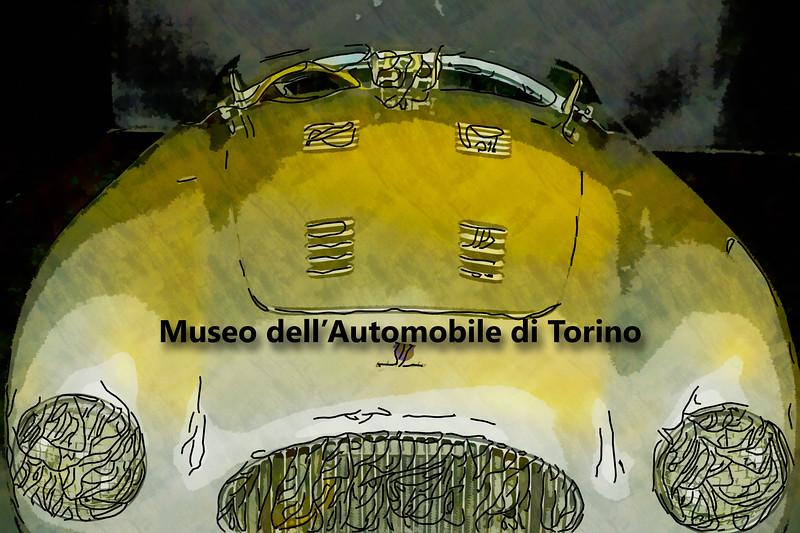 Antique Car in Torino