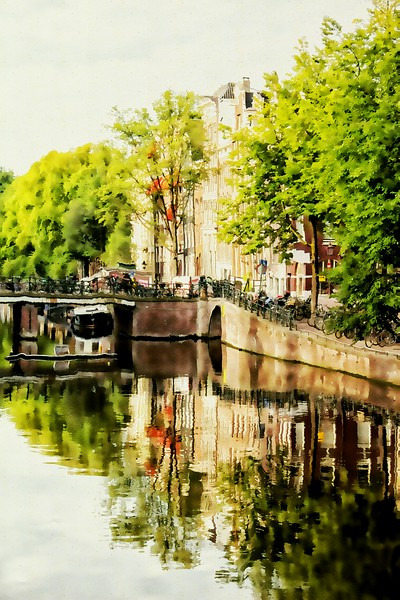 Morning on a Canal