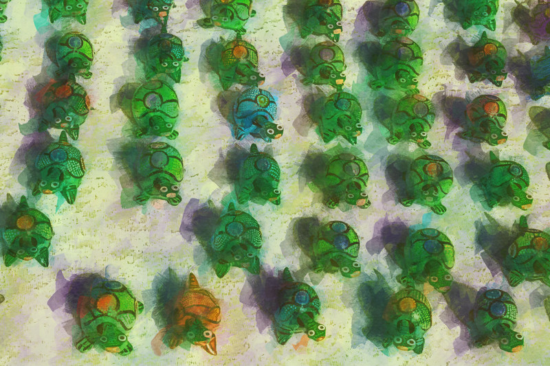 March of the Toy Turtles