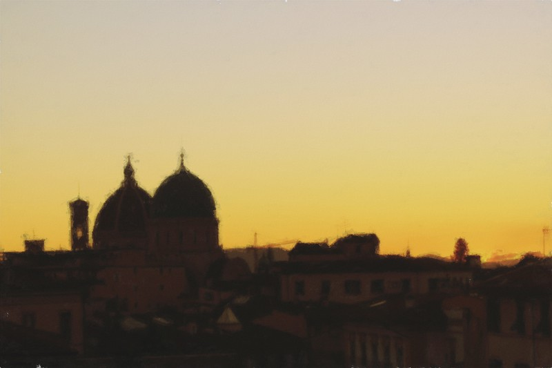 Dusk in Florence