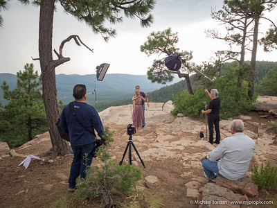 Lighting Workshop at the Mogollon Rim