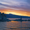©ML 123 Orange Sky over Tufa