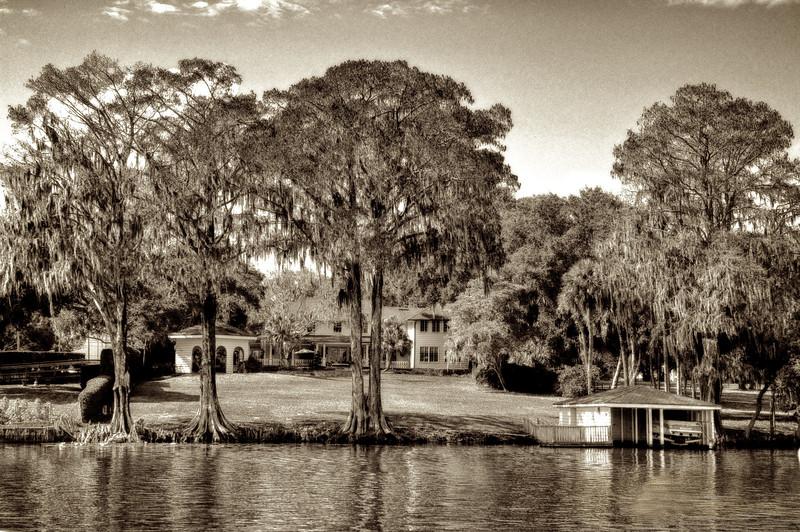 WPP2380  Lake Side Living   Sepia