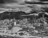 Cemetery, Truchas, New Mexico B&W