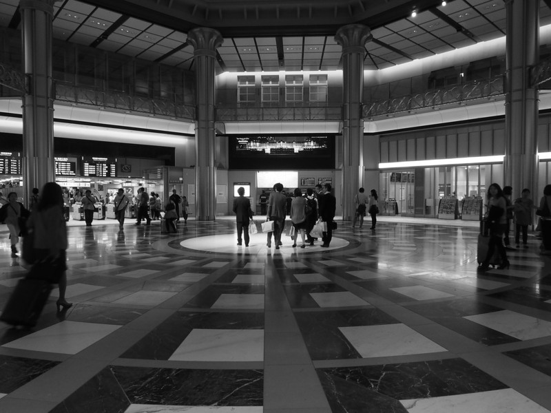 Marunouchi entrance gate of Tokyo station.