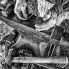 Blacksmith at work. Fort Boonesborough