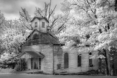 Dixon Springs State Park - Infrared - Illinois