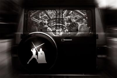 Millenium Falcon Van