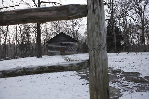 Monroe County Snow Scenes 2014
