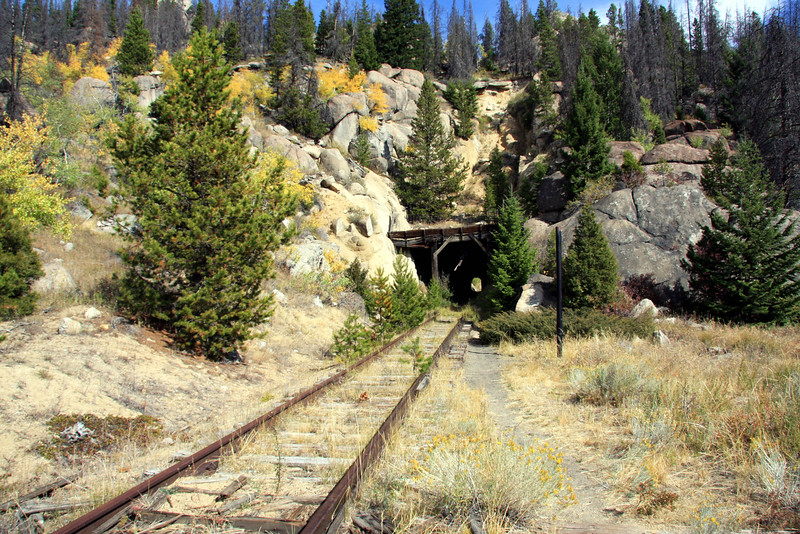 Railroad tunnel on Homestake Pass