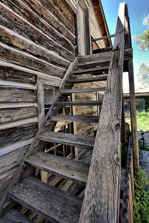 A rustic climb to the past.