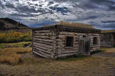 Montana's first jail -- Bannack.