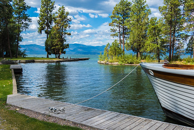 Marina at Flathead Lake Lodge