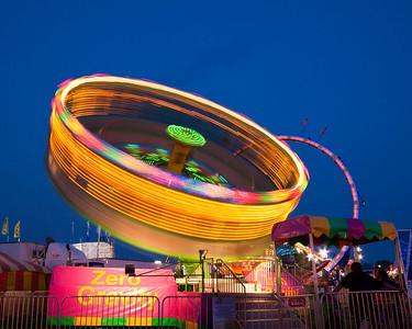 Montgomery County Fair at Night