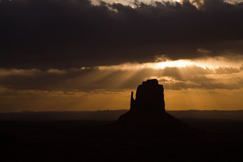Alain Briot Day 4 - Canyon de Chelly - Monument Valley sunrise