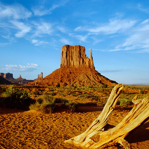 Mitten, Monument Valley, Navajo Tribal Park