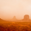 Monument Valley Dust Storm