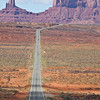 Looking South to Monument Valley from milepost 13