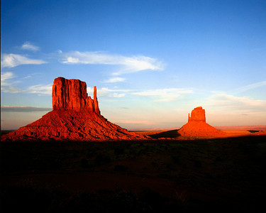 The Mittens, Monument Valley, Navajo Tribal Park