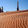 Yei Bi Chei, Totem Pole, and Sand Dune