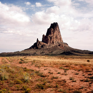 Agathla Peak (El Capitan) Near Monument Valley, Navajo Tribal Park