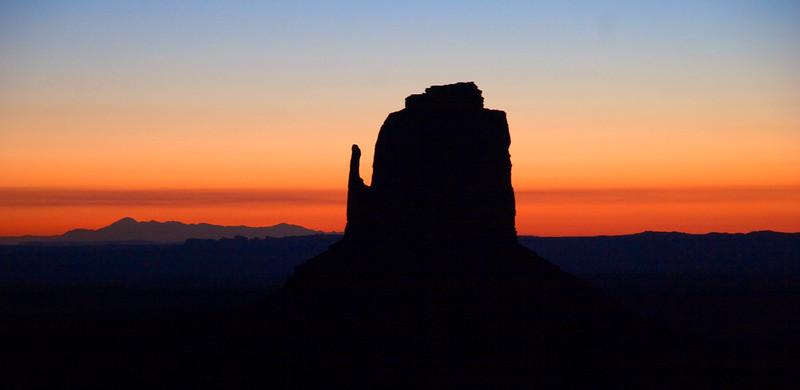 East Mitten at sunrise