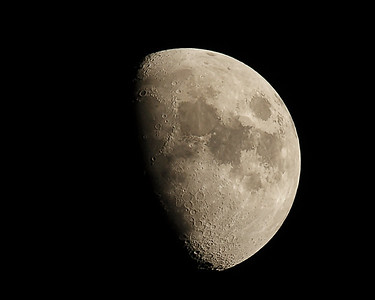 Moon shots from 2008