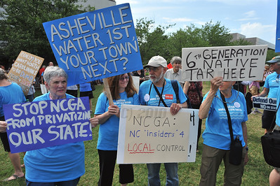 People gathered in the Halifax Mall in Downtown Raleigh on June 24, 2013 to protest the policies and laws proposed and passed by the North Carolina State General Assembly. 120 protesters were eventually arrested.
