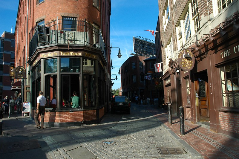 """On the """"Freedom Trail"""" in Boston"""