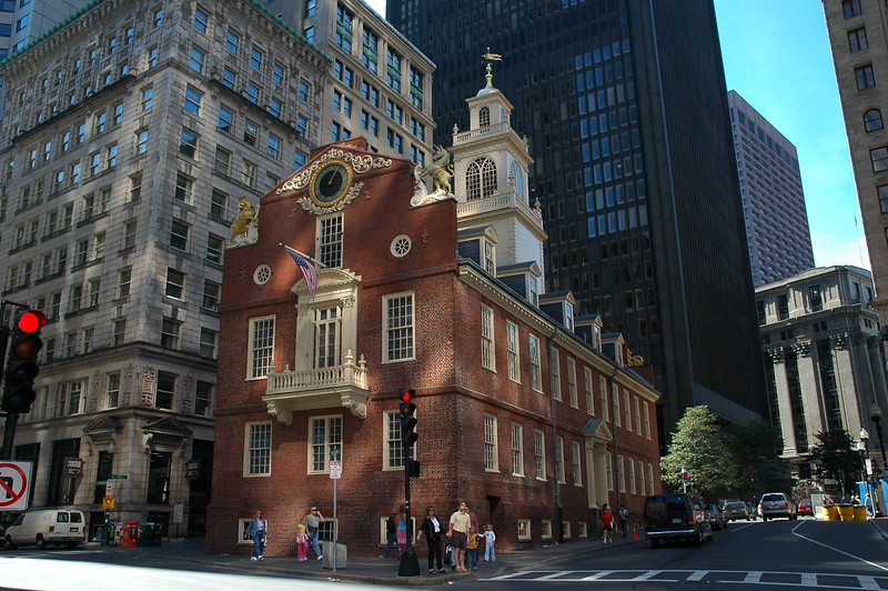 "On the ""Freedom Trail"", Boston"