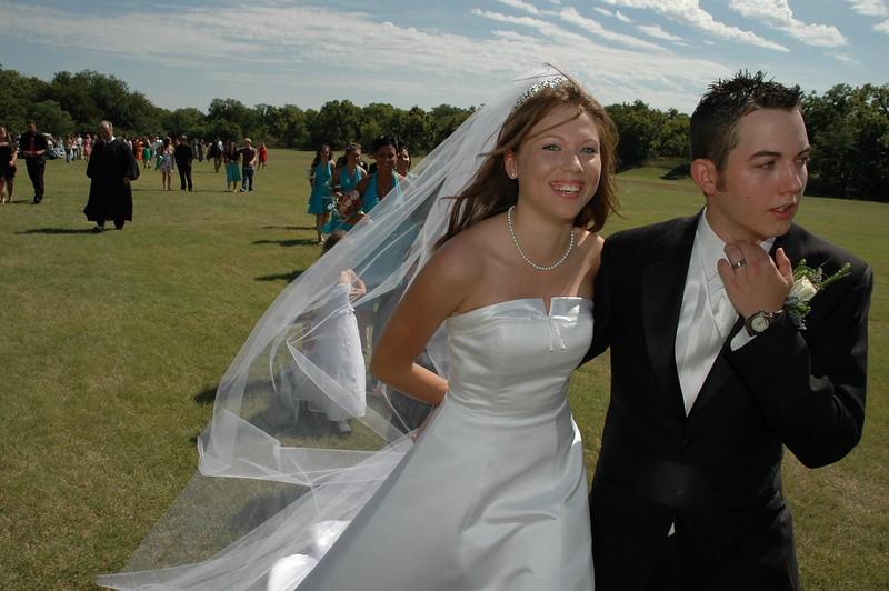 Wedding in a Park, Wichita, Ks. (Amanda & Aaron)