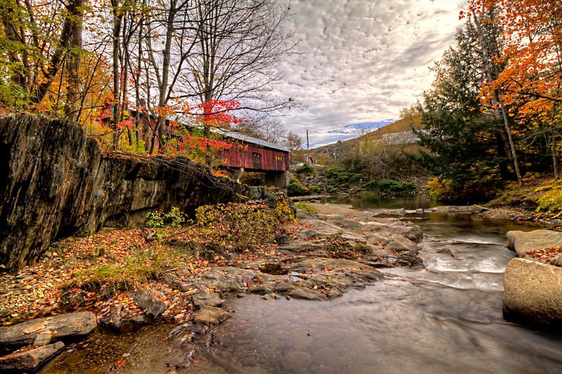 Covered Bridge<br /> Vermont<br /> Image#:9059