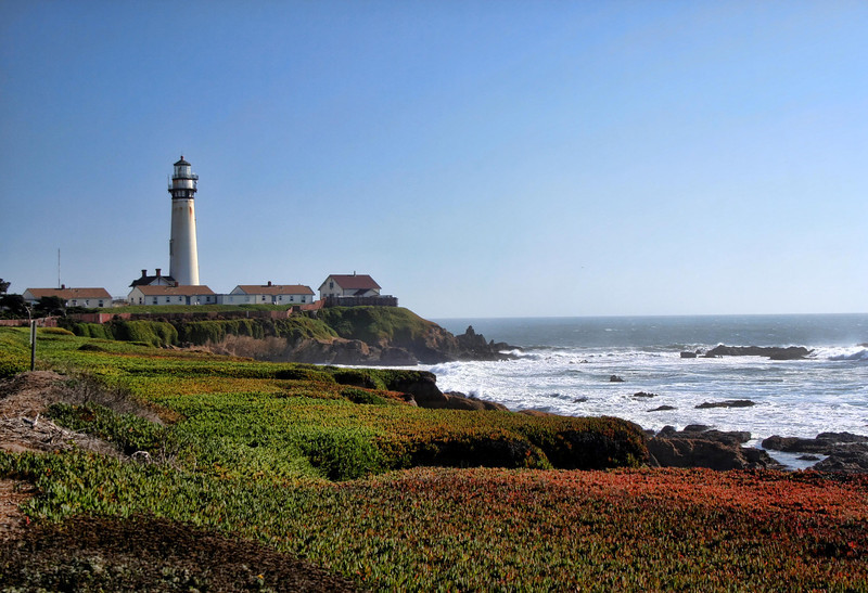 Pigeon Point Lighthouse<br /> California<br /> Image#:8684