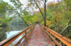 Wolfe Park Bridge View <br /> Monroe, CT<br /> Image#:7387