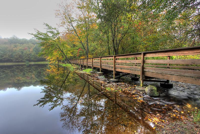 Wolfe Park Bridge <br /> Monroe, CT<br /> Image#:7384