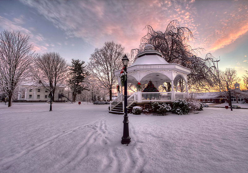 Gazebo on Monroe Green<br /> Monroe, CT<br /> Image#:2806