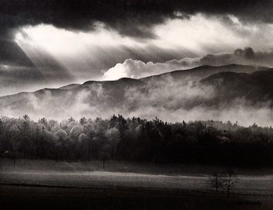 Storm in the Cove Cades Cove, GSMNP