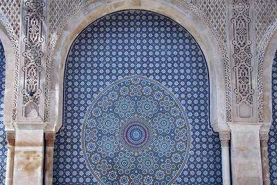 Wall Mosaic - Sidi Ahmed al-Tijani Mosque, Fes